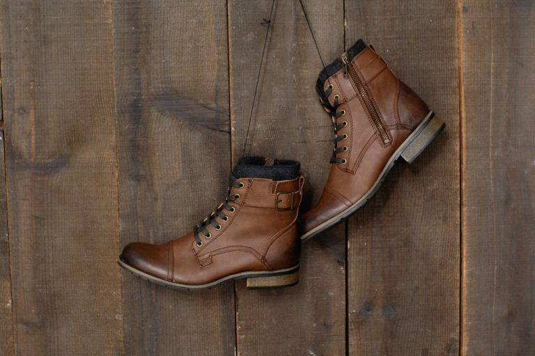 Pair of men's boots