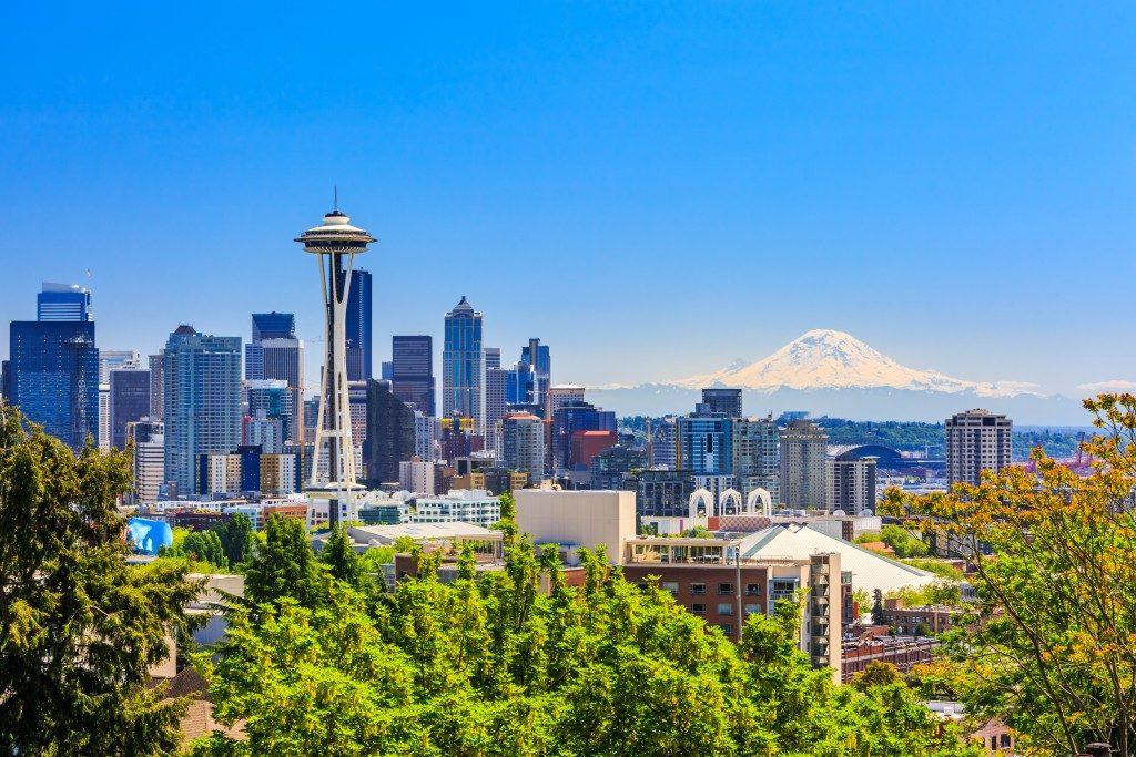 Seattle downtown skyline