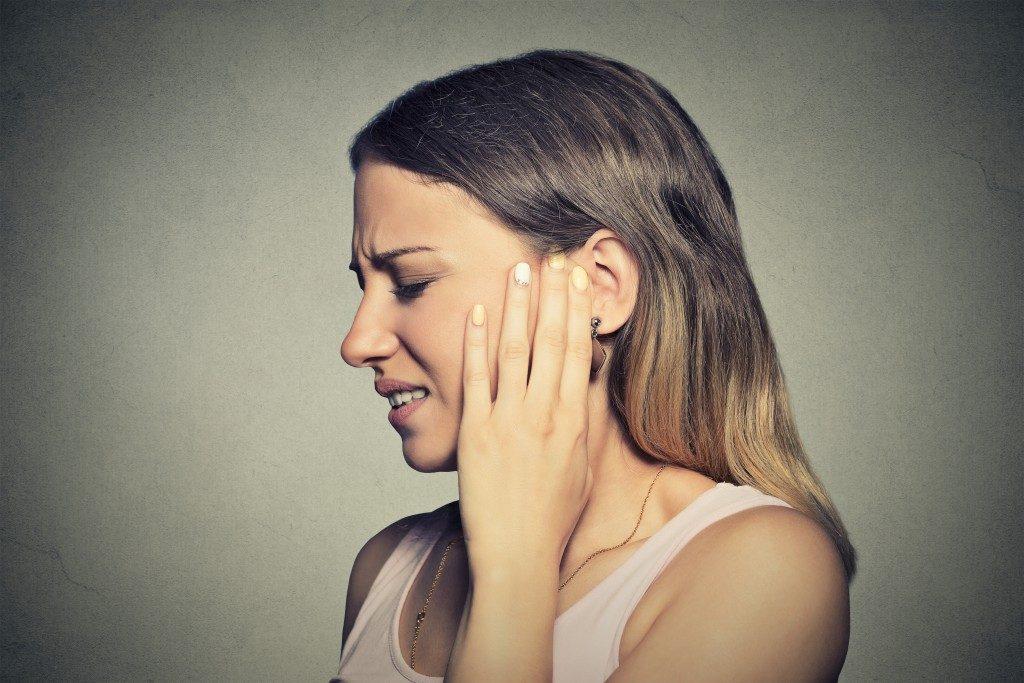 hearing pain