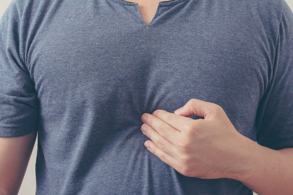 chest ache