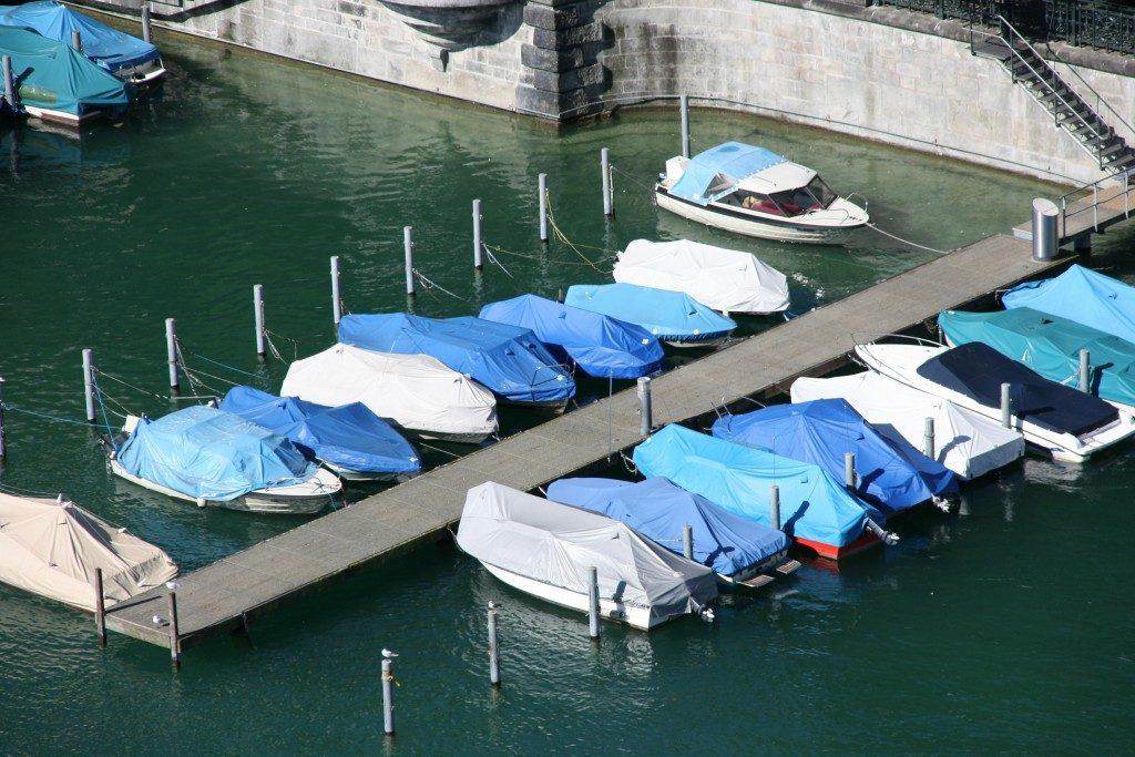Docks in Switzerland