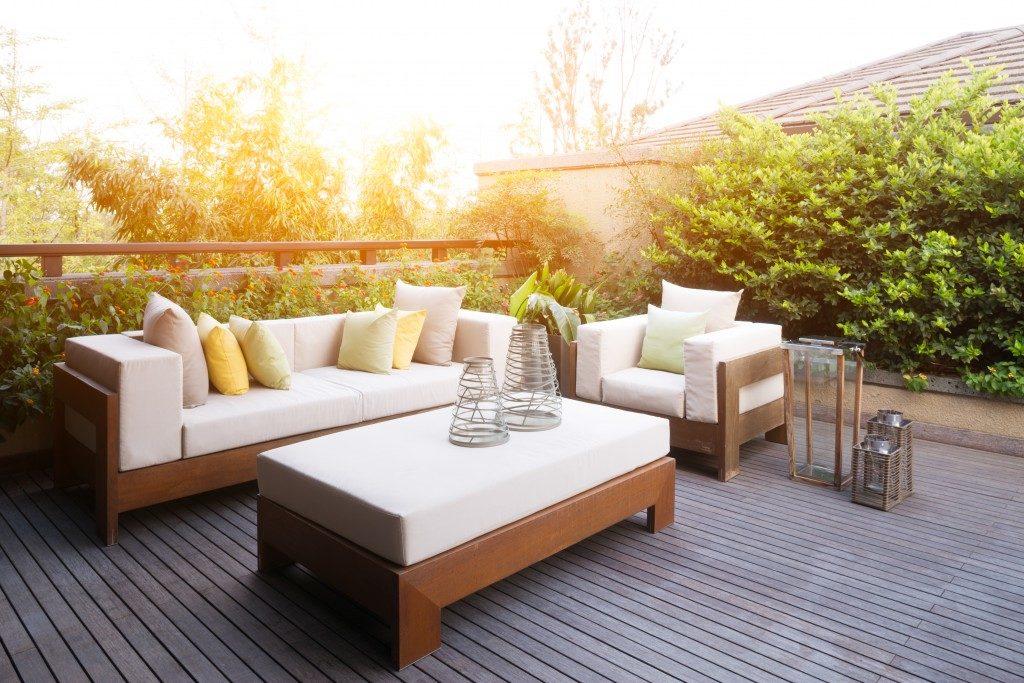 backyard deck