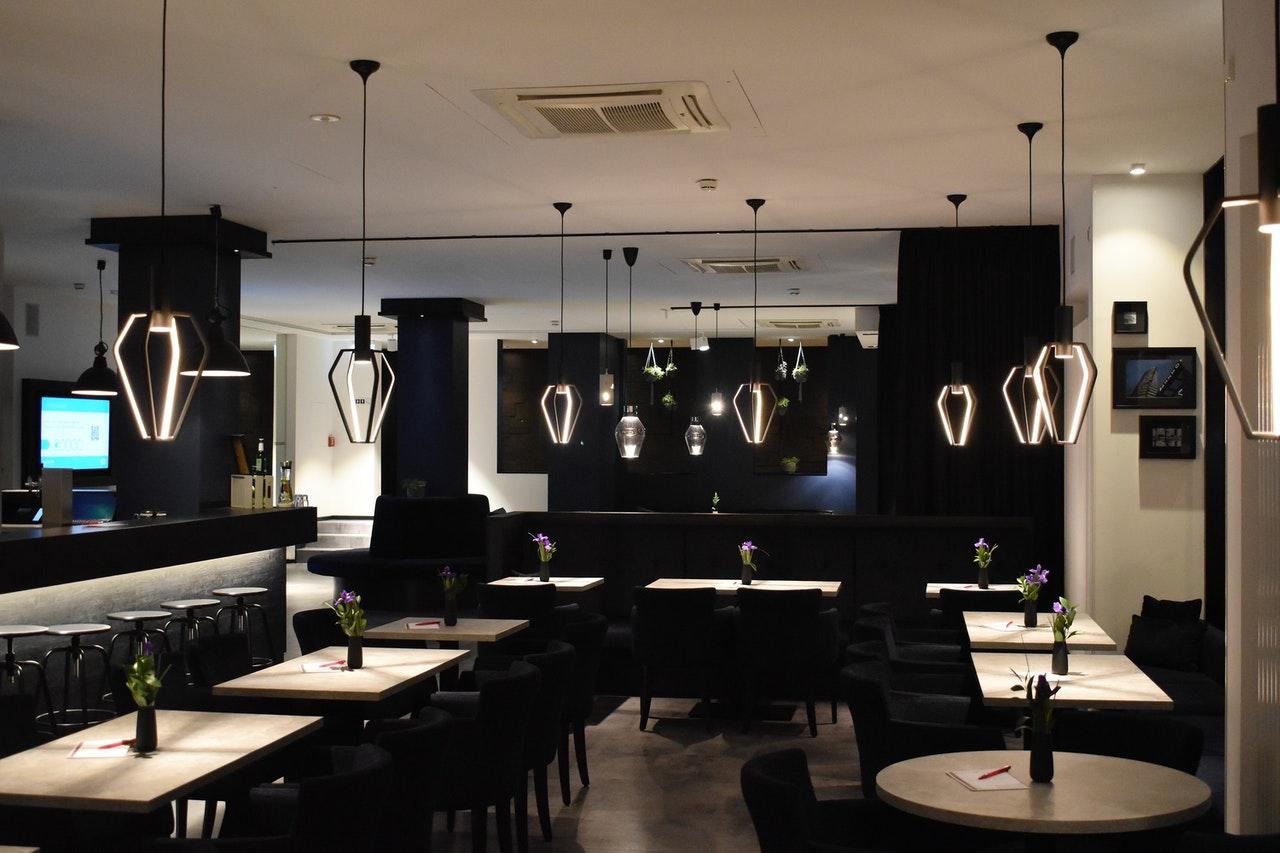 modern designed restaurant
