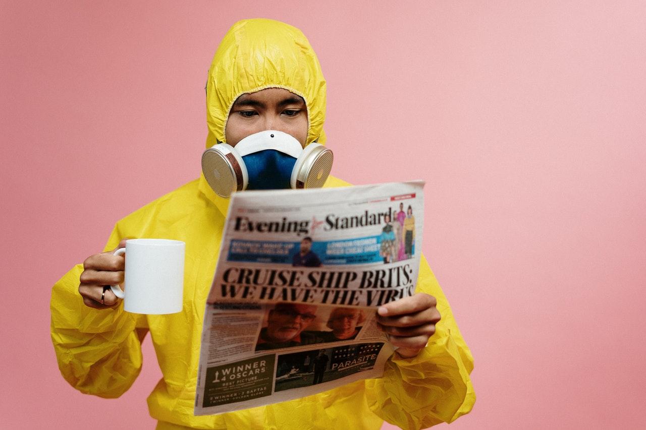 man wearing protective equipment